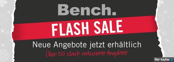 Bench. Flash Sale, ab 40€ VSK frei + 12% Cashback