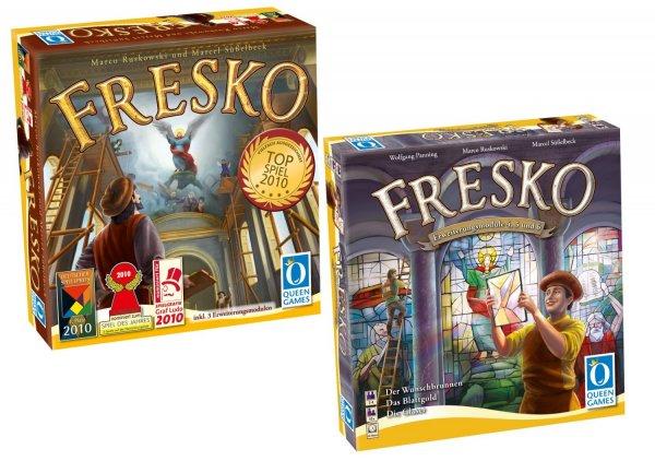 Brettspiel - FRESKO + Erweiterung