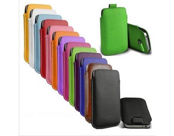 Kunstleder-Taschen für verschiedene Smartphone-Modelle für 3,33€