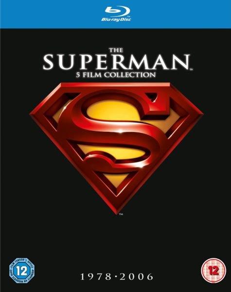 [Blu-ray ] The Superman Collection 1-5 (1978-2006) für 17,80€ inkl. Versand (Anthology für 21,35€, Smalville komplett DVD für 59,38€)  (@Zavvi