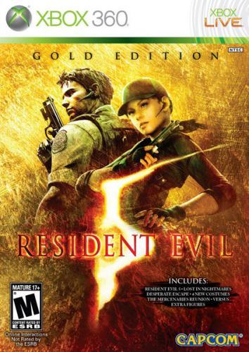 Resident Evil 5 - Gold Edition [Xbox 360] für ca. 14,53€ @ thehut.com