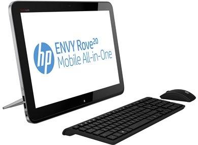 HP Envy Rove 20-k000eg All-in-One (portabel), i3 1,7GHz, 4GB RAM, 1TB SSHD