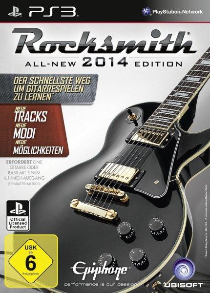 Rocksmith 2014 mit Kabel bei Amazon als Tagesangebot für PS3 XBOX360