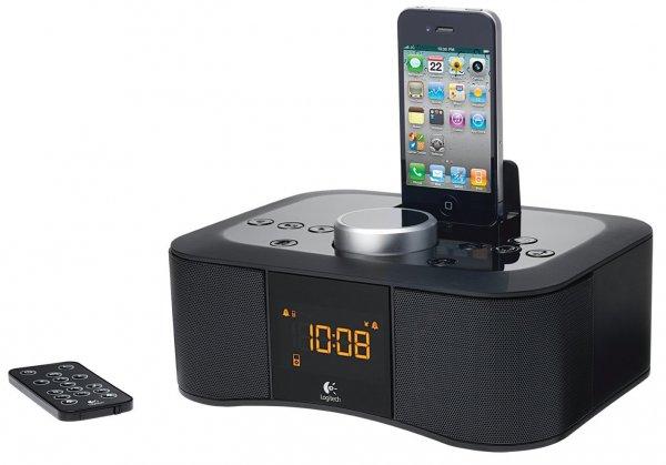 [digitalo] Logitech S400i Clock Radio Lautsprecher Schwarz für 39,99 €