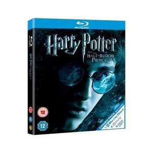 Blu Ray - Harry Potter And The Half Blood Prince