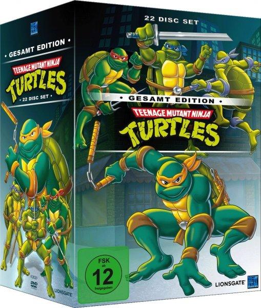 [Weltbild.de] Teenage Mutant Ninja Turtles - Gesamtedition ( 22 DVDs) o. Vsk für 39,99 €