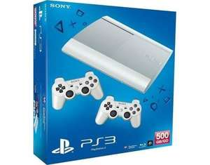 Sony PS3 500GB + 2nd Controller White, Blue und Red