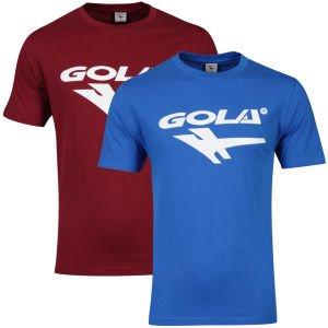 Gola Men's 2-Pack T-Shirts in den Farben Cobalt/Burgundy für 8,31€ bei Zavvi