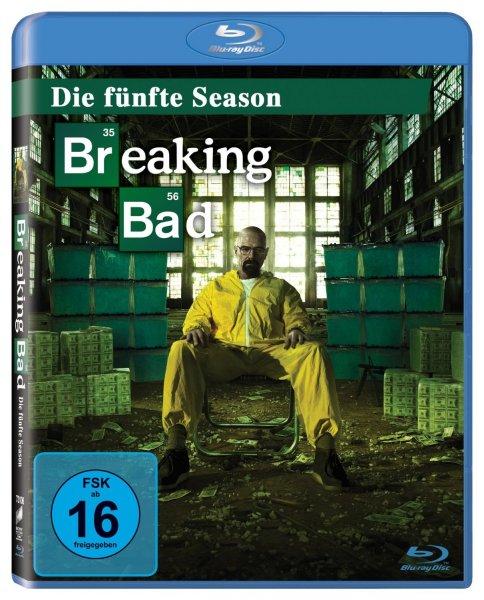 Breaking Bad - Die fünfte Season (5.1) [Blu-ray] für 15,97 € (DVD für 12,97 €) @Amazon.de