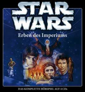 [amazon.de] Star Wars: Erben des Imperiums (Hörspiel, 4 CDs) Box ca 50% gespart