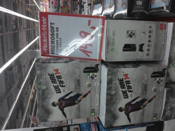 (Lokal Leipzig) X-Box 360+ Fifa14 250GB One Edition