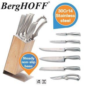 Berghoff Nuance 7-Messer Set mit Block @ ibood.de