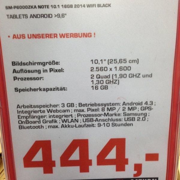 [Lokal HB] Samsung Note 10.1 2014 WiFi