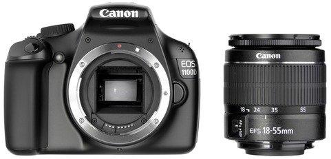 DSLR Kamera Canon EOS 1100 D Kit + EF-S 18-55 III DC 269€ @ebay