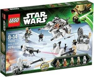 LEGO Star Wars 75014 Battle of Hoth für 39,98€  /  LEGO Star Wars 66449 Super Pack 3 in 1 für 64,98€  bei Toys'R'us
