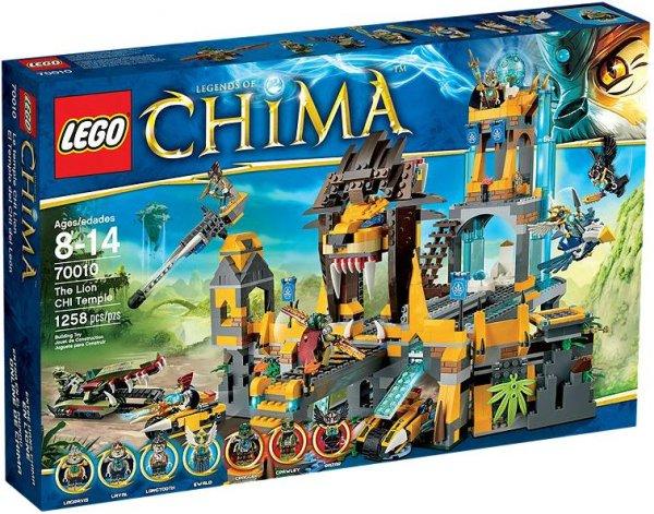 LEGO CHIMA 70010 Der Löwen-Chi-Tempel für 89,98€ bei Toys'R'us + 10€ Geschenkkarte dazu