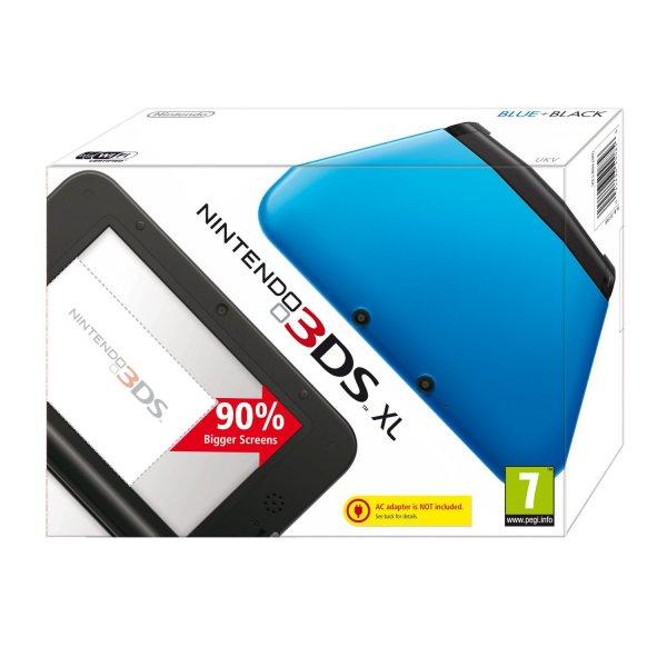 Nintendo 3DS XL (blue/black - red/black - silver/black )