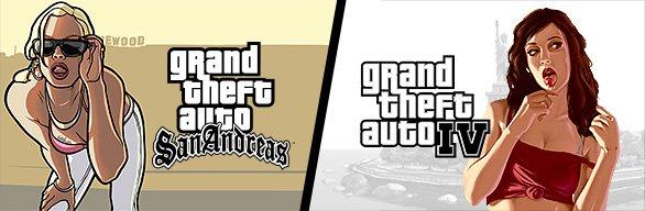 Grand Theft Auto IV + Grand Theft Auto: San Andreas[STEAM]