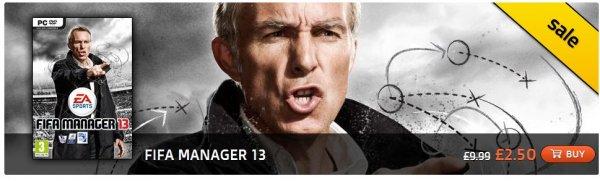 FIFA MANAGER 13 für ca. 3 €