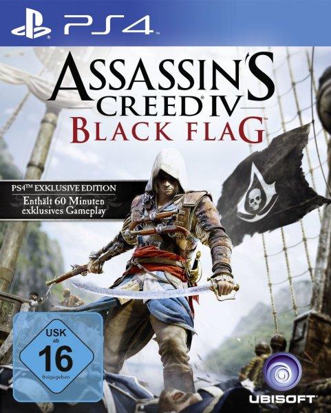 Assassin's Creed 4: Black Flag - Bonus Edition für PlayStation 4 nur 49,99 Euro