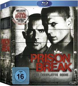 [amazon] Prison Break - Die komplette Serie (inkl. The Final Break) [Blu-ray] für 42,97 €