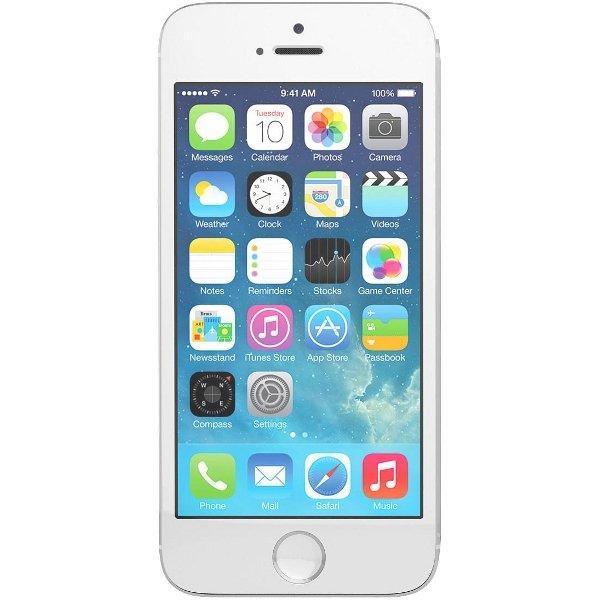 Apple iPhone 5s 16GB silber für 629,00, neu und ohne Vertrag