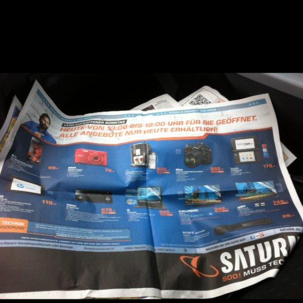 Saturn Bielefeld  15.12.13 Diverse Elektro Angebote