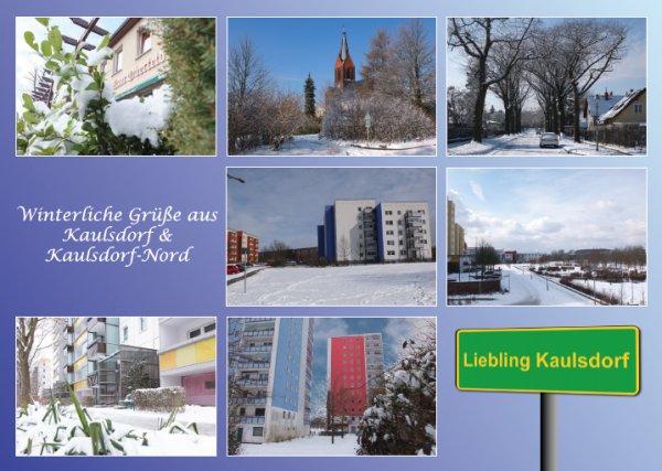 "[Lokal Berlin] Kaulsdorfer Ansichtskarte ""Winter-Edition"" kostenlos bestellen"