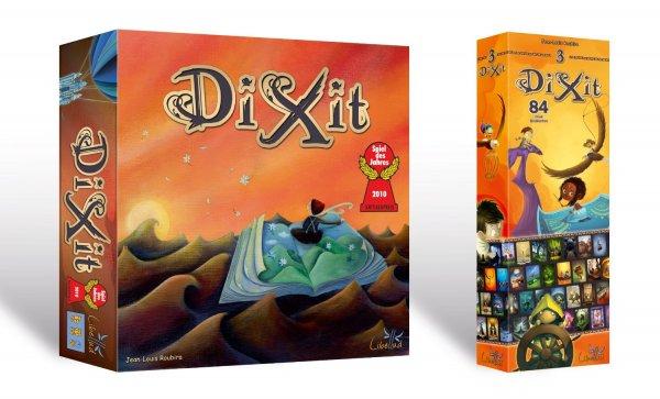 Dixit Bundle (Hauptspiel + Erweiterung 3) @ Amazon