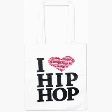 Kostenlose I love Hip Hop Tasche zu jeder Mzee Bestellung [Kein Freebie für sich, aber Artikel ab max. 0,99€!]