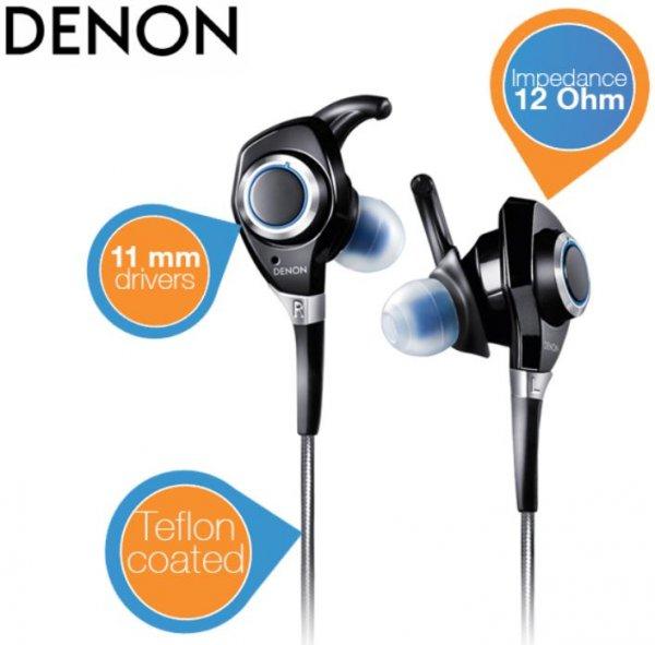 Denon AH-C301 UrbanRaver In-Ear-Kopfhörer schwarz/blau @Amazon