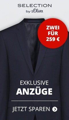 2 S'Oliver Anzüge für 259 € Große Auswahl !