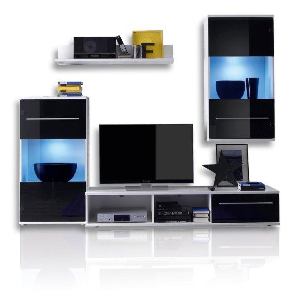 [ebay] Wohnwand BLACK MAGIC für 149€ inkl. Lieferung bis in die Wohnung