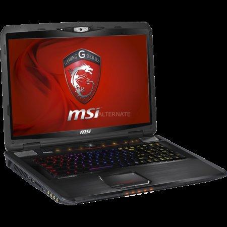MSI GT70 (i7-3630QM, Full-HD matt, GTX 680M, SSD,...) @ZackZack