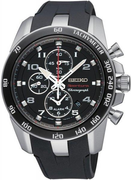 Seiko Herren-Armbanduhr XL Sportura Alarm-Chronograph SNAE87P1 für 279,95 Euro
