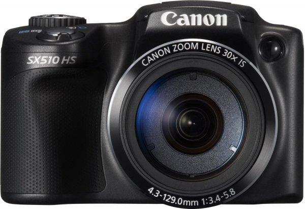 Canon PowerShot SX510 HS Digitalkamera in schwarz für 179 €