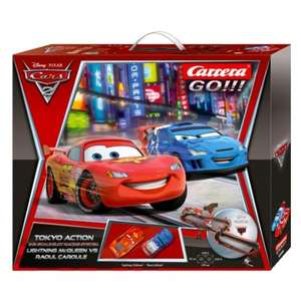Carrera GO!!! Disney Cars 2 Set Tokyo Race 6,2 m Strecke 62240