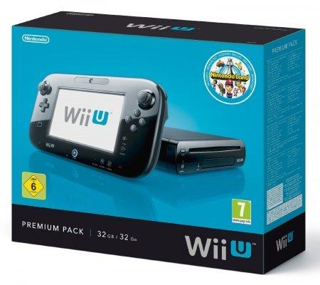 Nintendo Wii U Konsole Premium Pack mit Nintendoland für 249€ inkl. VSK
