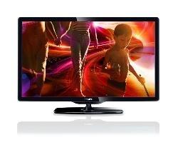 Philips 40PFL5206H 102 cm (40 Zoll) LED-Fernseher, EEK A (Full HD, 100 Hz PMR, DVB-T/C, CI+, HDMI) schwarz für 379€ @DC