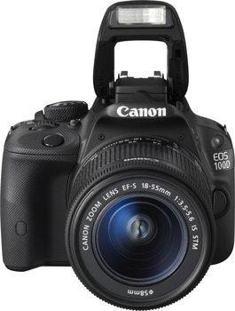 [Amazon Blitzangebot]Canon EOS 100D Kit 18-55 mm [Canon IS STM] CASHBACK möglich!