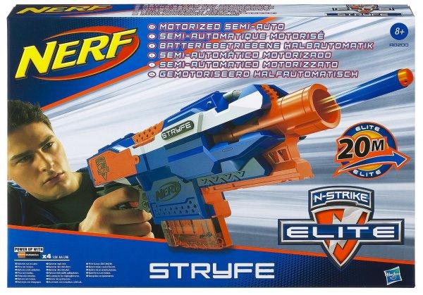 """amazon: Nerf - N-Strike Elite """"Waffe"""" für Schaumstoff-Dart`s,12,- +3,- statt 17,- + 6,- €, für große und mittlere Räuber oder Gendarmen ..."""