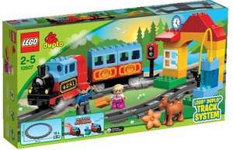 LEGO® DUPLO® 10507+10506 - Eisenbahn Starter + Zuberhör Set @Buecher.de