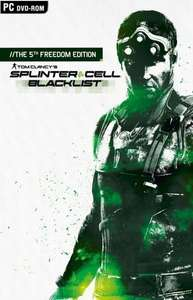 Splinter Cell Black List - 5th Freedom Edition PS3/XB360/PC 39,99 Portofrei