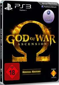 PS3 God of War: Ascension SE (USK 18) für 19€ @Redcoon.de