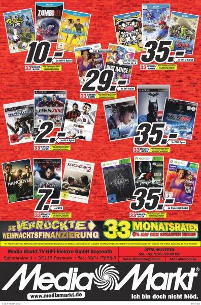 -LOKAL- MM Bayreuth Diverse Spiele und DVDs