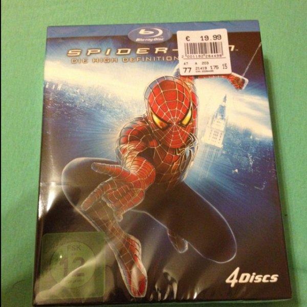 Spiderman Trilogie (BluRay)