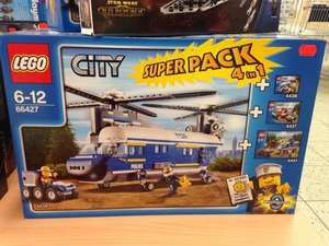 [Lokal?!] Real - Lego City Super Pack 4in1 66427