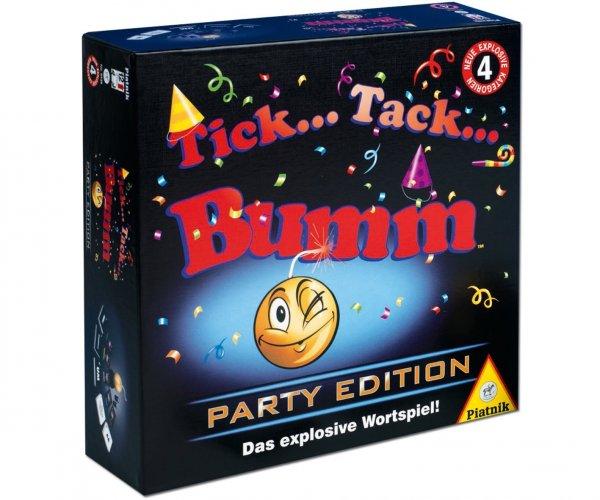 Piatnik Tick Tack Bumm Party Edition ab 12,99€ (Neukunden für 9,99€) zzgl. 3,50€ Versand/ ab 20€ frei (Idealo 17,99€)
