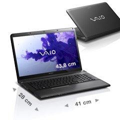 Notebook Sony VAIO E17,  Core i7-3632QM Prozessor, 8 GB RAM, Full-HD, Blu-ray Disc Writer, 626,05 € mit Gutscheincode GENVCHAFFD1213