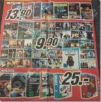 Neues Media Markt Multimedia Prospekt - zahlreiche Blu-Rays 9,99€, TV-Boxen 25€, etc.